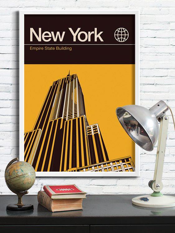 Reignandhail New York Poster