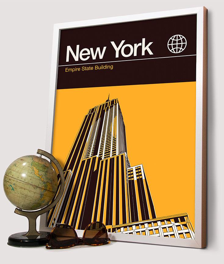Banner Image - New york Print