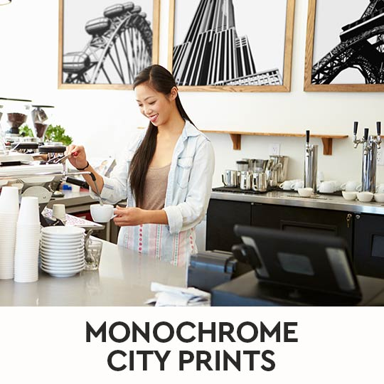 City Prints - Black & White