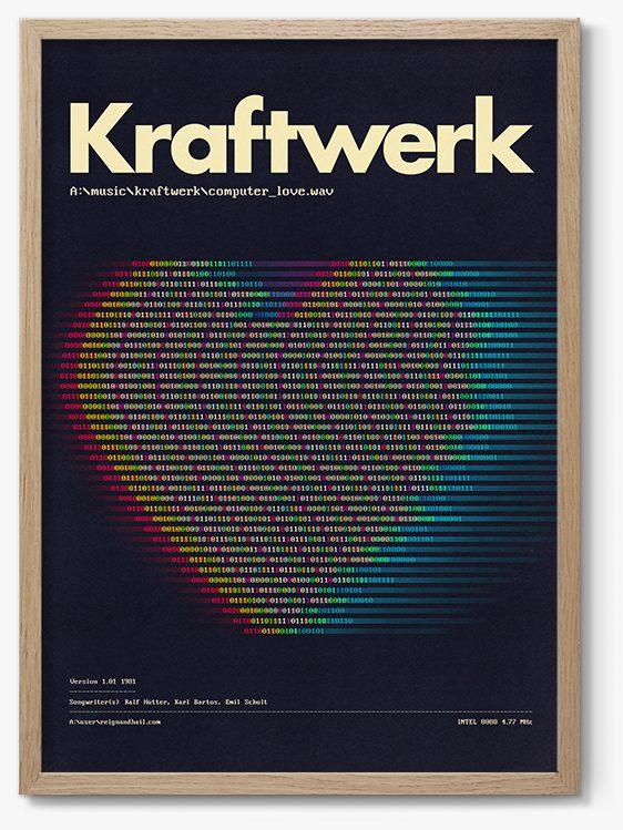 Kraftwerk Print